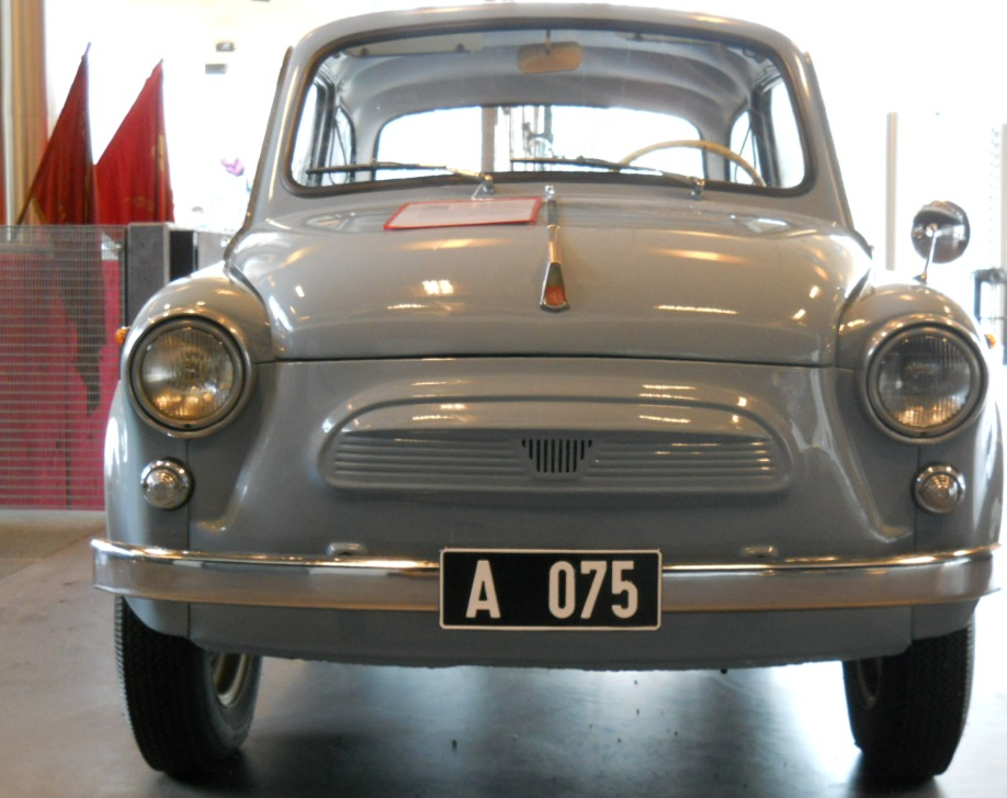 soviet car, museum of occupations, tallinn, estonia