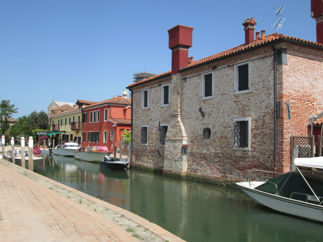 canal on torcello island, venice, italy