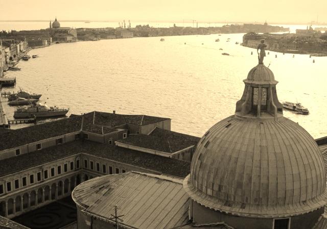 Top of the Campanile, San Giorgio Maggiore Island, Venice